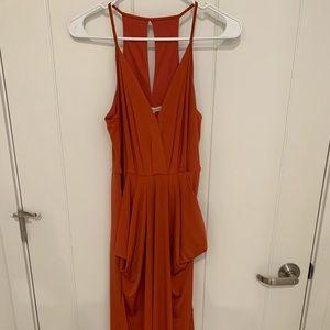 BCBGeneration Cinnabar Gown